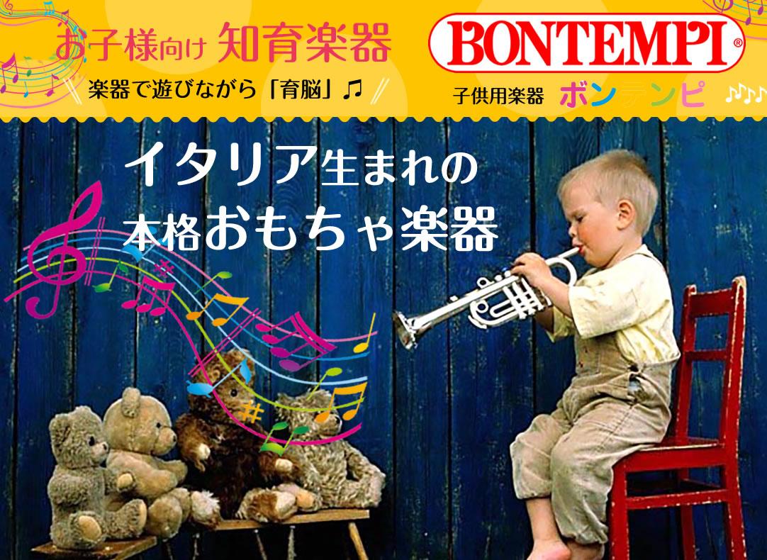 イタリア生まれの本格おもちゃ楽器 お子様向け知育楽器 楽器で遊びながら育脳 子供用楽器ボンテンピ BOMTEMPI