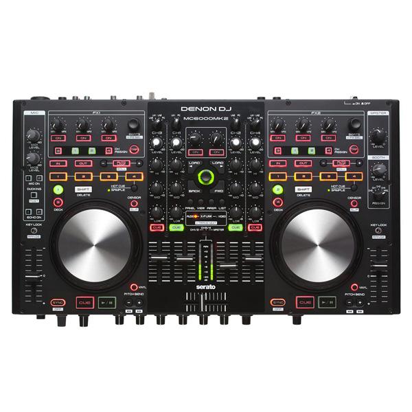 Denon(デノン) / MC6000MK2 【Serato DJ 無償】4チャンネルPCDJコントローラー