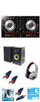 Pioneer(パイオニア) / DDJ-SB2 激安初心者Bセット  (Serato DJ Intro 無償)  ■限定セット内容■ 【・ヘッドホン(OV-X8) ・MS-210J ・セッティングマニュアル ・教則DVD ・金メッキ接続ケーブル ・ミックスCD作成KIT ・10分で理解DJ教則動画】