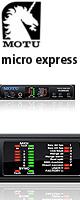"MOTU(マークオブザユニコーン) / Micro Express USB [4イン/6アウト MIDIインターフェイス] ■限定セット内容■→ 【・""世界NO.1""USBケーブル 】"