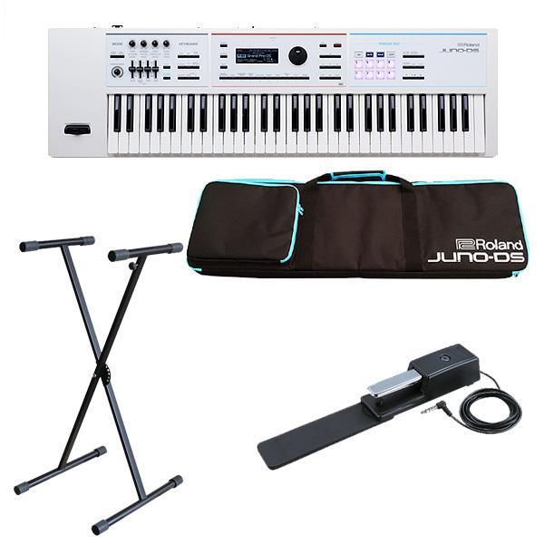 Roland(ローランド) / JUNO-DS61W オススメセット- 61鍵 シンセサイザー