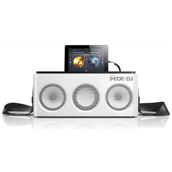 Philips(フィリップス) / M1X-DJ Sound System - iOS / djay2対応 DJコントローラー搭載 サウンドシステム -