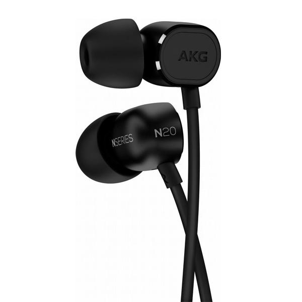AKG(アーカーゲー) / N20 (BLACK) - ハイパフォーマンスカナル型イヤホン -