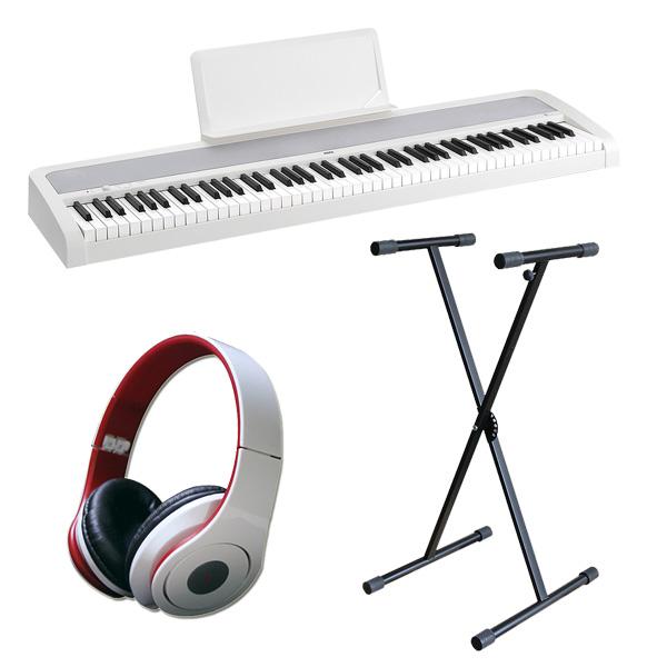 Korg(コルグ) / B1(ホワイト) 【デジタルピアノ X型スタンドセット】