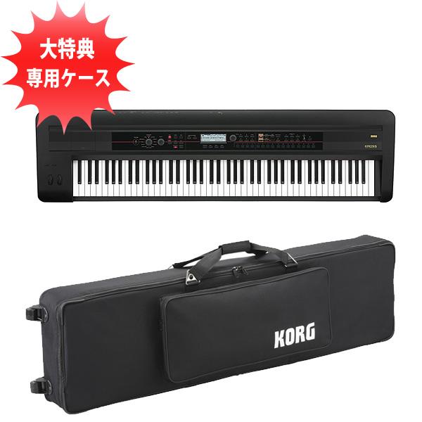 Korg(コルグ) / KROSS-88 BK(88鍵盤) 【モバイルセット】
