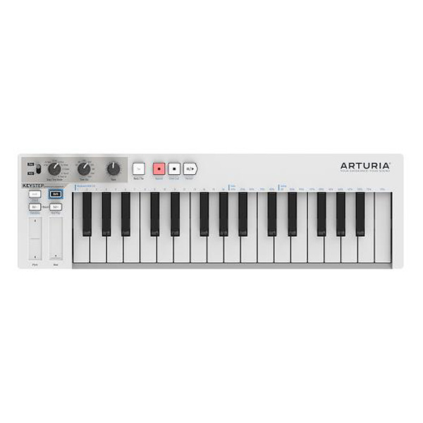 Arturia(アートリア) / KeyStep  ポータブルUSB MIDI コントローラー -ステップ・シーケンサー-