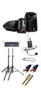 【ワイヤレスヘッドセット_Aセット】 STAGEPAS 600i / Concert 88 Headset 《講演 ・イベントに最適》 2大特典セット