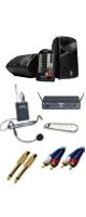 【ワイヤレスヘッドセット_Bセット】 STAGEPAS 600i / Concert 88 Headset 《講演 ・イベントに最適》 1大特典セット