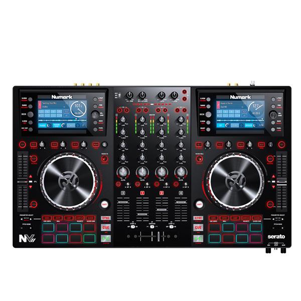 【10倍ポイント】9月13日まで Numark(ヌマーク) / NV II 【Serato DJ無償】 - 4チャンネルPCDJコントローラー