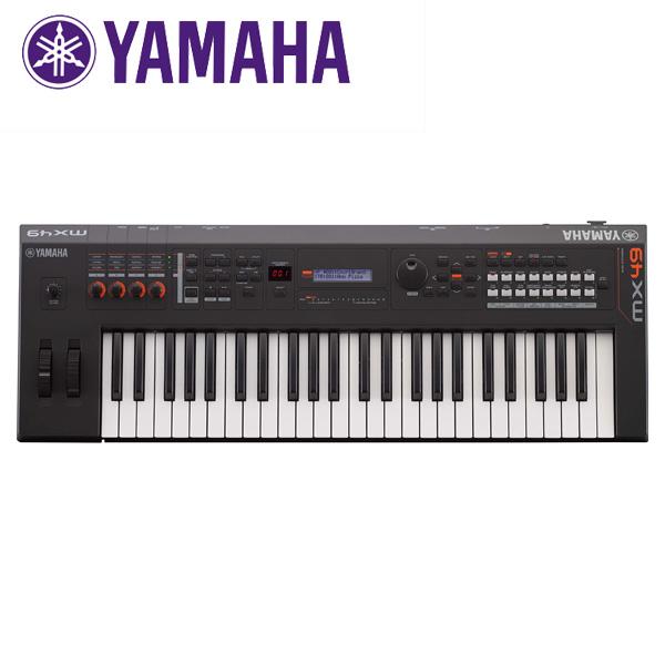YAMAHA(ヤマハ) / MX49 BK  - ミュージックシンセサイザー 【専用ソフトケース付属】-
