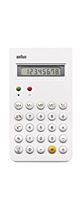 BRAUN(ブラウン) / CALCULATOR (White) 【復刻】計算機 - 電卓 -