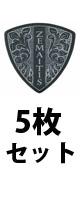 ■ご予約受付■ Zemaitis(ゼマティス) / ZP-16 TR/H BK 5枚セット - ピック -