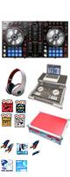 """【サマーセット】Pioneer(パイオニア) / DDJ-SR  フライトケース(レッド)激安定番モバイルAセット 『セール』『DJ機材』 ■限定セット内容■→ 【・フライトケース ・教則DVD ・エレクトロハウス音ネタ ・ミックスCD作成KIT ・セッティングマニュアル ・ヘッドホン(OV-X8) ・金メッキ高級接続ケーブル 3M 1ペア ・DJ必需CD 計""""5枚"""" ・10分で理解DJ教則動画】"""