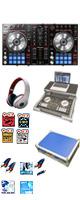 """【サマーセット】Pioneer(パイオニア) / DDJ-SR  フライトケース(ブルー)激安定番モバイルAセット 『セール』『DJ機材』 ■限定セット内容■→ 【・フライトケース ・教則DVD ・エレクトロハウス音ネタ ・ミックスCD作成KIT ・セッティングマニュアル ・ヘッドホン(OV-X8) ・金メッキ高級接続ケーブル 3M 1ペア ・DJ必需CD 計""""5枚"""" ・10分で理解DJ教則動画】"""