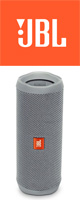 JBL(ジェービーエル) / FLIP4 (グレー) - 防水Bluetoothワイヤレススピーカー ■限定セット内容■ 【・最上級エージング・ツール 】