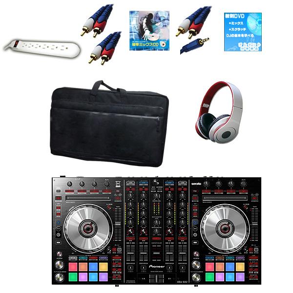 【Seratoフェア】Pioneer(パイオニア) DDJ-SX2 / ESPC03 【コントローラーバックお得セット!】 『セール』『DJ機材』