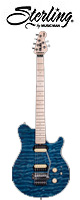 Sterling(スターリング) / by MUSIC MAN AX4 Translucent Blue - エレキギター -