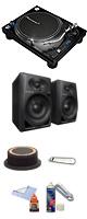 PLX-1000 / DM-40&AT618 高音質リスニングセット ■限定セット内容■→ 【・OAタップ ・クリーニングセット ・AT618 ・1分理解rekordbox DJクイックガイド 】
