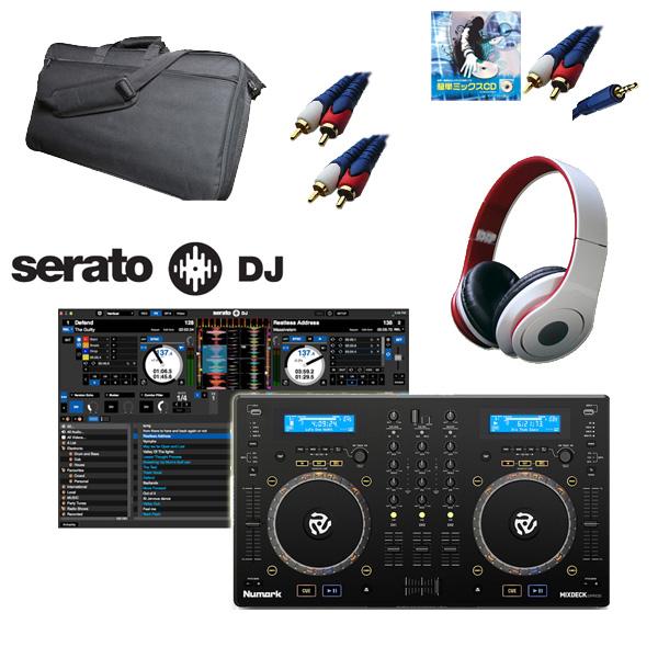 【Serato フェア】Numark(ヌマーク) / Mixdeck Express / Serato DJ セット 【9月25日までの期間限定】