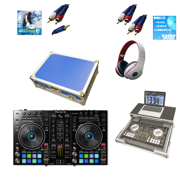 Pioneer(パイオニア) / DDJ-RR  フライトケース(ブルー)【ウィンターセット】 『セール』『DJ機材』
