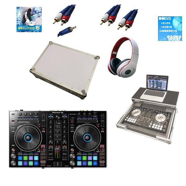 Pioneer(パイオニア) / DDJ-RR  フライトケース(ホワイト)【ウィンターセット】 『セール』『DJ機材』