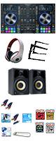 """Denon(デノン) / MC7000 / Studio Scope 3  激安ハイアマセット【Serto DJ 無償】 ■限定セット内容■→ 【・ヘッドホン(OV-X8 ) ・LS-01 ・金メッキ高級接続ケーブル 3M 1ペア ・教則DVD ・セッティングマニュアル ・ミックスCD作成KIT ・ Studio Scope 3  ・OAタップ ・DJ必需CD 計""""5枚"""" ・10分で理解DJ教則動画】"""