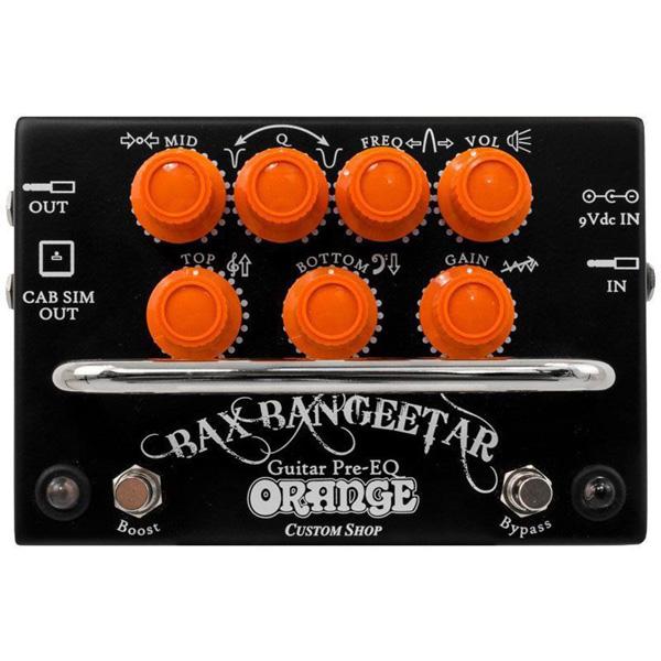 ORANGE(オレンジ) /Bax Bangeetar BLACK ギターエフェクター オーバードライブ/イコライザー