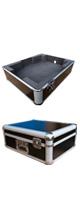 Euro Style(ユーロスタイル) / FLIGHTCASE for TT250USB (ブラック) 【対応機種: Numark(ヌマーク) TT250USB】 - ターンテーブルケース -