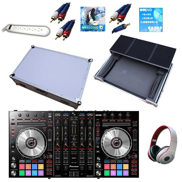【Seratoフェア】Pioneer(パイオニア) DDJ-SX2 / DJ CONTROLLER CASE (LARGE) 【フライトケースお得セット!】 『セール』『DJ機材』