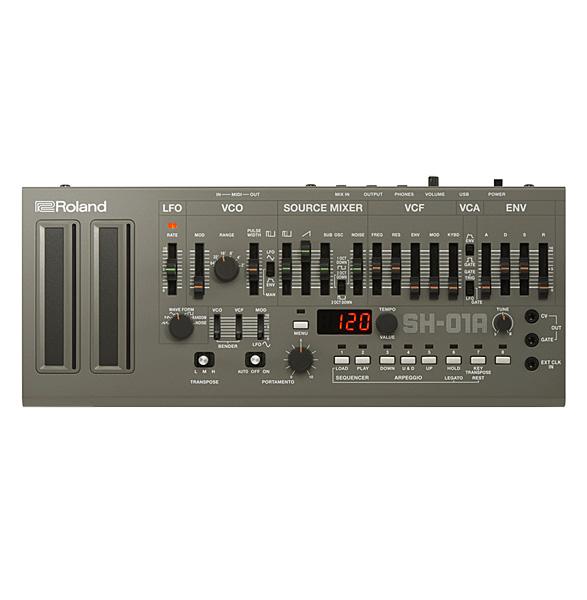 Roland(ローランド) / SH-01A (シルバー) - モノフォニックシンセサイザー / 音源モジュール - 【Boutique シリーズ】【9月29日発売】