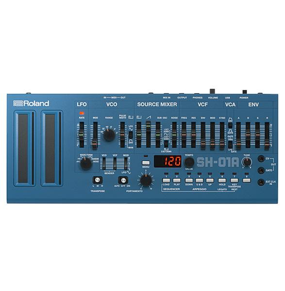Roland(ローランド) / SH-01A-BU (ブルー) - モノフォニックシンセサイザー / 音源モジュール - 【Boutique シリーズ】【10月28日発売予定】
