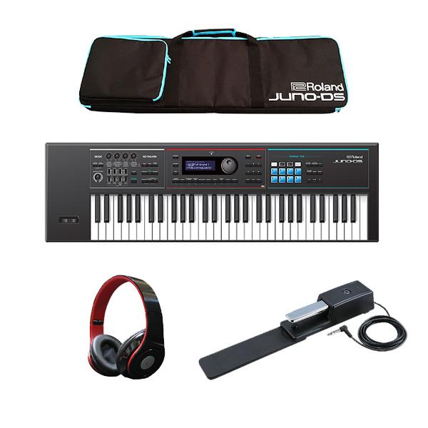 Roland(ローランド) / JUNO-DS61 最低限自宅練習セット- 61鍵 シンセサイザー