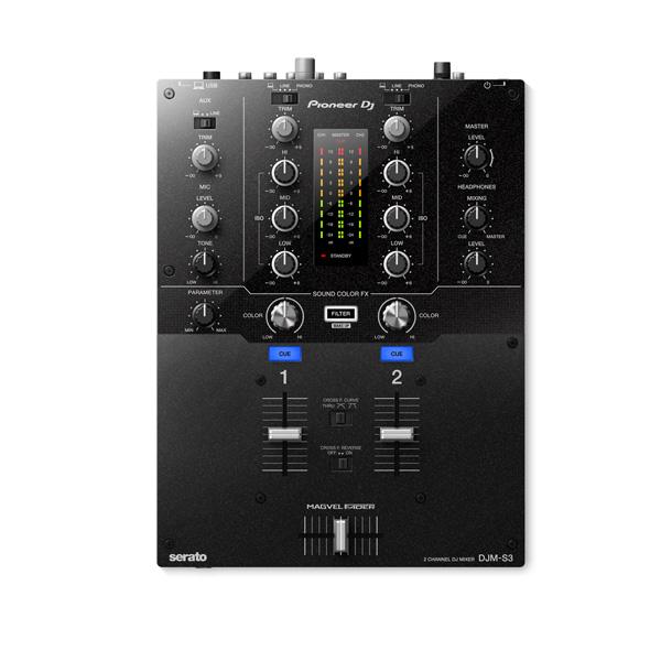 Pioneer(パイオニア) / DJM-S3 - SERATO DJ専用2CHミキサー-  5大特典セット