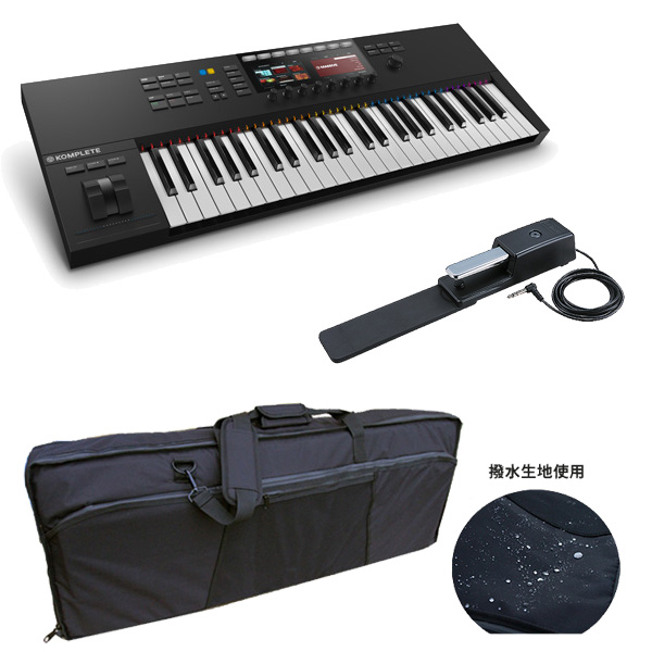 【発売記念!収納ケースプレゼント!】KOMPLETE KONTROL S49 MK2/ Native Instruments(ネイティブインストゥルメンツ)  - MIDIキーボード49鍵 -