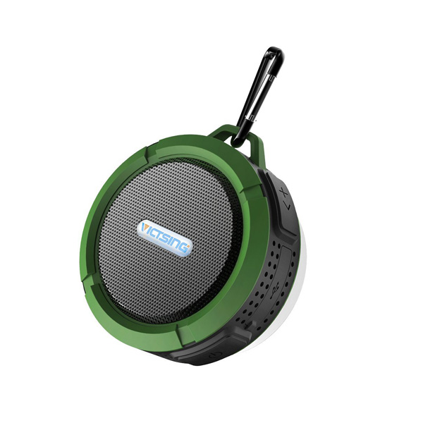 VicTsing / Shower Speaker (Army Green) - IPX4 防水ワイヤレススピーカー -