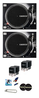 Reloop(リループ) /  RP-7000 MK2 BLACK 2台 SHURE / M44-7 カートリッジ付きセット 4大特典セット