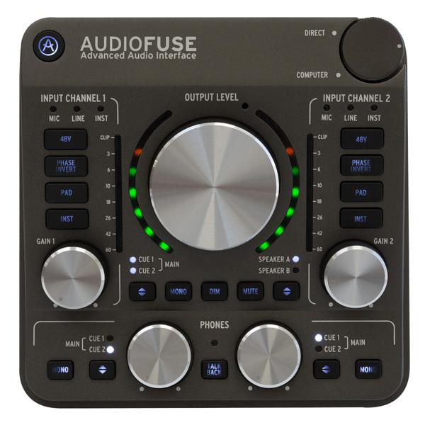 Arturia(アートリア) / Audio Fuse (スペース・グレイ) -  オーディオ・インターフェース -