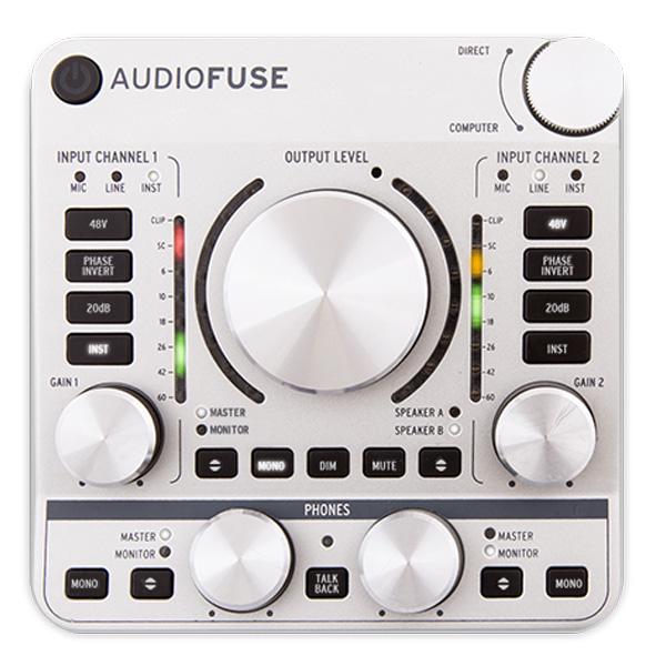 Arturia(アートリア) / Audio Fuse (クラシック・シルバー) - オーディオ・インターフェース - -