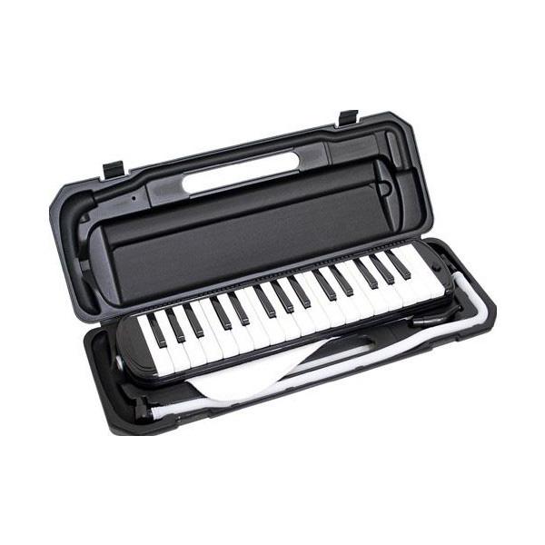 メロディーピアノ 鍵盤ハーモニカ- KC / P3001-32K/BK (ブラック)