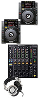 "CDJ-900 / DJM-800 オススメBセット ■限定セット内容■→ 【・OAタップ ・セッティングマニュアル ・教則DVD ・金メッキ高級接続ケーブル 3M 1ペア ・ミックスCD作成KIT ・RP-DH1200 ・LaCieハ-ドディスク500G ・Belkin-USBケーブル 5-Pin Mini-B Gold ・DJ必需CD 計""5枚""】"