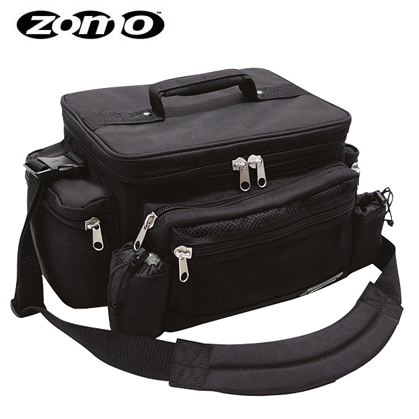 Zomo(ゾモ) / Ragga Bag (BLACK) - 7インチレコード約150枚収納可能 レコードバッグ - 【レ】