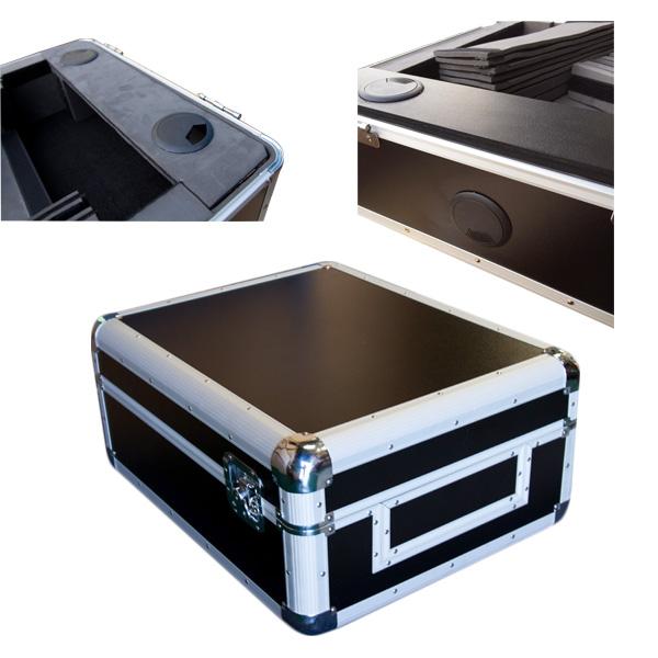 Euro Style(ユーロスタイル) / CDJ Case (Black) 【対応機種: Pioneer XDJ-1000 / CDJ-2000NXS / CDJ-2000NXS2 / CDJ-900NXS / CDJ-1000 / CDJ-800 / CDJ-850 / DJM-S9 / DJM-900NXS / DJM-900NXS2 / DJM-850 / DJM-800 / DJM-750 / DJM-700 / Denon SC3900 / DN-S3700 / Allen & Heath XONE 92 / XONE:62 / XONE:DB4 / Rane SIXTY-ONE / SIXTY-TWO / SIXTY-FOUR / SIXTY-EIGHT / TTM 57SL / Native Instruments TRAKTOR kontrol Z2 / Vestax 05pro3 / 05pro4】 - CDJケース -