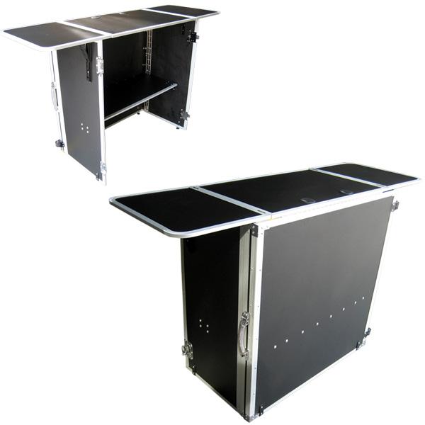 Euro Style(ユーロスタイル) / DJ TABLE (2nd Edition) - 折りたたみ式DJテーブル - 耐荷重アップ 【CDJセット、ターンテーブルセット、PCDJ、シンセサイザー、キーボード等多彩に対応!!】 【4月末入荷予定】