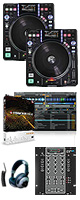 �� Ķ������ PCDJ���å�!! �� DN-S3700 / SMX.311 / TRAKTOR PRO 2 �������ꥻ�å����Ƣ������ڡ�DJ�ѥ����륳���ɥإåɥۥ󡡡���§DVD�������쥯�ȥ�ϥ������ͥ��������åƥ��󥰥ޥ˥奢�롡�����å������³�����֥� 3M 1�ڥ�����OA���åס����ߥå���CD����KIT����������NO.1��USB�����֥롡��DJɬ��CD �ס�5��ɡ�
