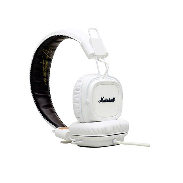 【限定1台】Marshall(マーシャル) / MAJOR WHITE - マイク & リモコン付き ヘッドホン -『アウトレット/開封品』『セール』『ヘッドホン』