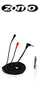 Zomo(ゾモ) / Spring Cable for Sennheiser HD 25 3.5m (Black) - 交換用カールコード・ケーブル -
