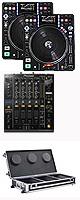 """DN-S3700 / DJM-900NXS ■Euro Style フライトケース ■ SET ■限定セット内容■→ 【・教則DVD ・エレクトロハウス音ネタ ・セッティングマニュアル ・金メッキ高級接続ケーブル 3M 1ペア ・OAタップ ・ミックスCD作成KIT ・DN-HP500 ■ ・DJ必需CD 計""""5枚""""】"""