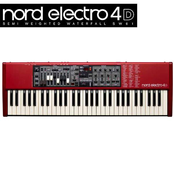 【限定1台】Clavia(クラヴィア) / NORD ELECTRO 4D SW61 (61鍵盤) 『セール』『シンセサイザー』