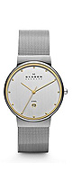 Skagen(����������) / TWO TONE MESH WATCH (Men's/355LGSC) - �ӻ��� -