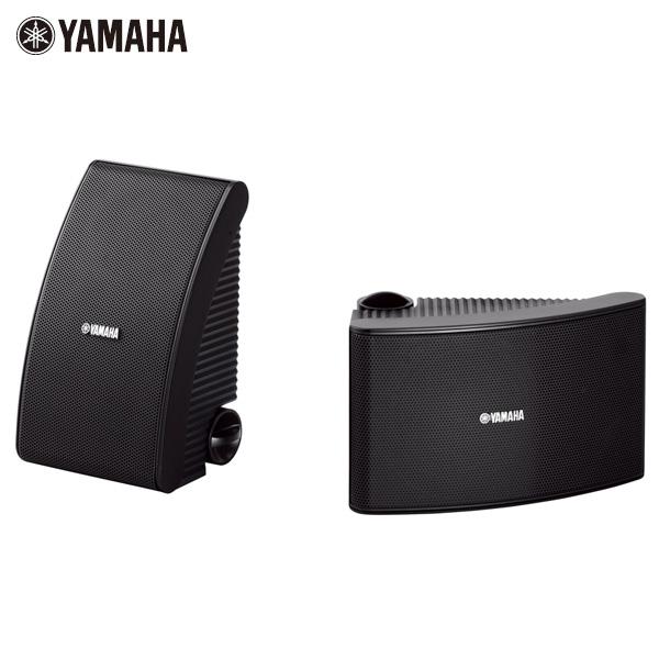 Yamaha(ヤマハ) / NS-AW392B (Black) - 全天候型スピーカー(1ペア販売) 壁掛けタイプ -